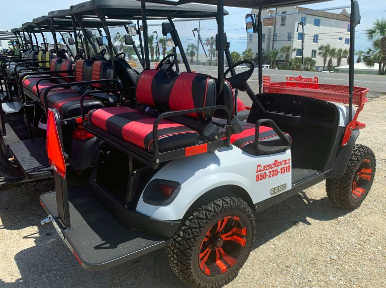 Why you should rent a golf cart on your next beach vacation